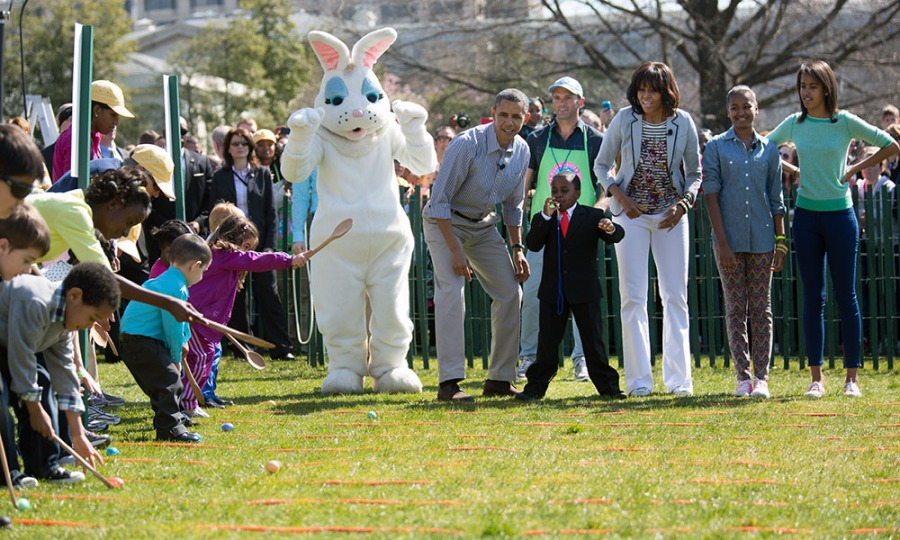 white hous easter egg roll