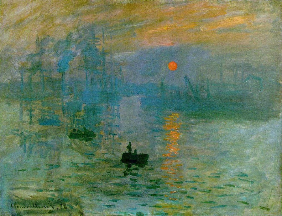 Claude Monet - Impression, Sunrise