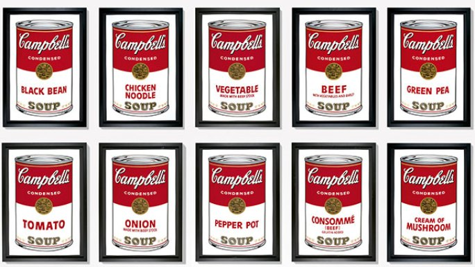 Campbell - Soup Cans